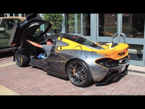 KHK's Crazy McLaren P1 Start Up and Driving Off Sound!