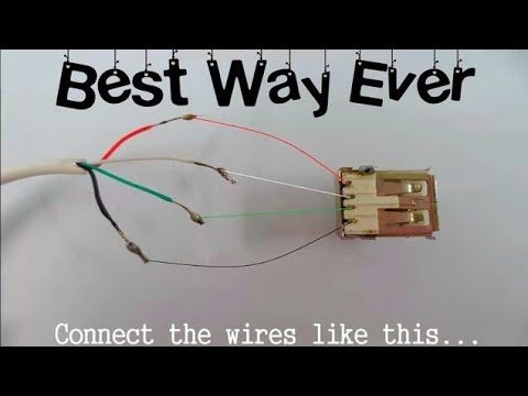 How to make OTG cable in details | Mr. Thinker
