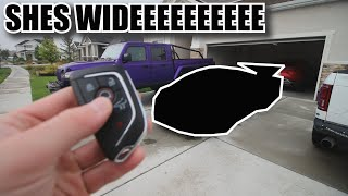 homepage tile video photo for Revealing my Widebody C8 Corvette!!