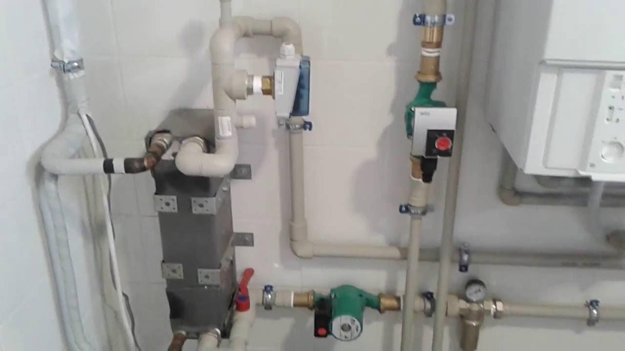 Как работает тепловой насос Грунт-Вода?. Принцип работы .