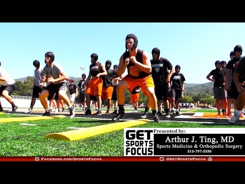 Los Gatos Football Spring Feature