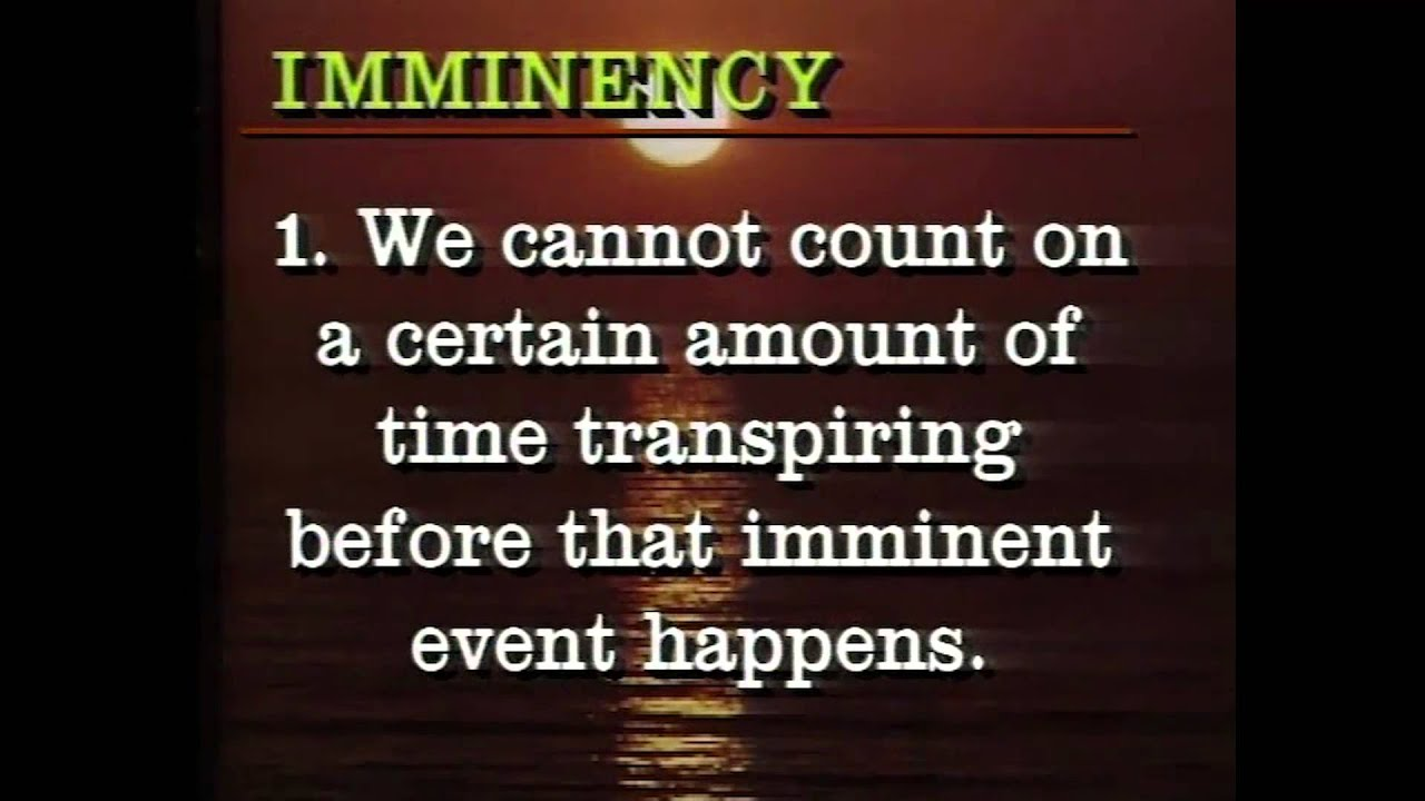 "What is the full definition of ""imminent""? - YouTube Impending Definition"