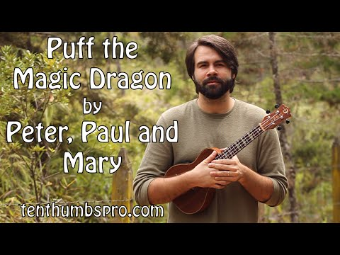 Puff The Magic Dragon - Peter, Paul & Mary - Super Easy Beginner ...