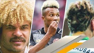 Pudel, Rasierpinsel, Bart Simpson: Die lustigsten Fußballer-Frisuren   SPORT1 VIP-LOGE