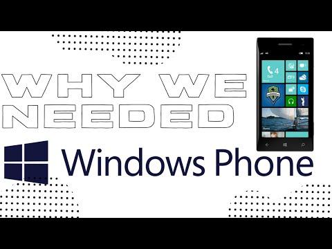 Windows Phone: Why We Needed It