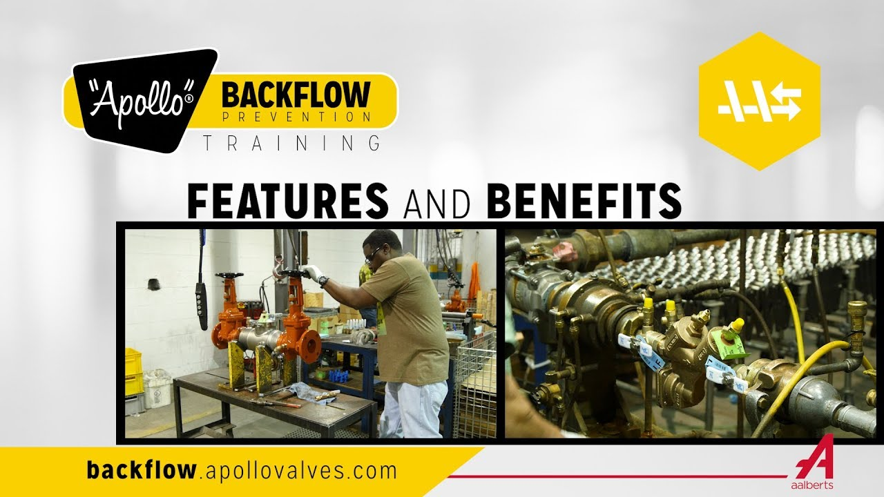 Apollo Backflow Prevention Training Features And Benefits Youtube