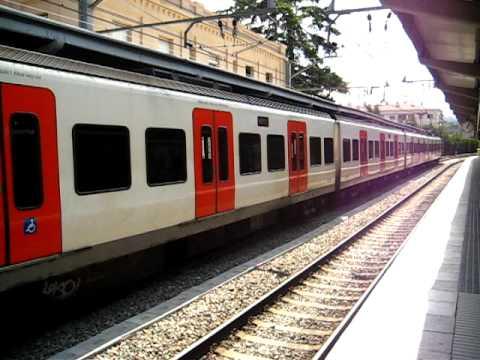 FGC (Ferrocarrils de la Generalitat de Catalunya) Line S1 EMU from...