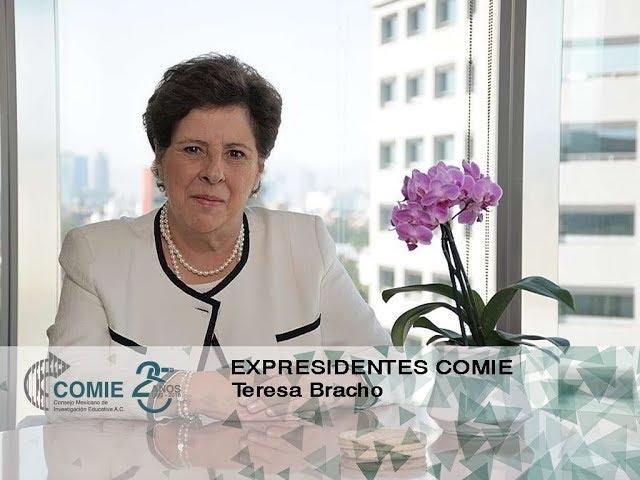 Expresidentes COMIE: Teresa Bracho
