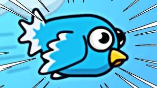 EWOLUOWAŁEM W NIEBIESKIEGO PTAKA! | FLY OR DIE.IO #admiros