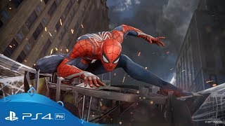 Marvel's Spider-Man | E3 2017 Trailer | PS4 Pro