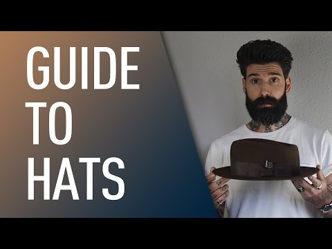 Guide To Men's Hats | Carlos Costa