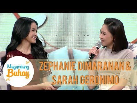 Sarah Geronimo's message for Zephanie Dimaranan | Magandang Buhay