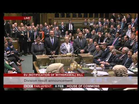 Lindsay Hoyle leaves the chair House of Commons