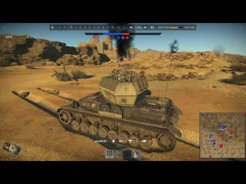 WT-Tank EP64 |Second Battle of EL Alamein|Wirbewind|Player View|2016