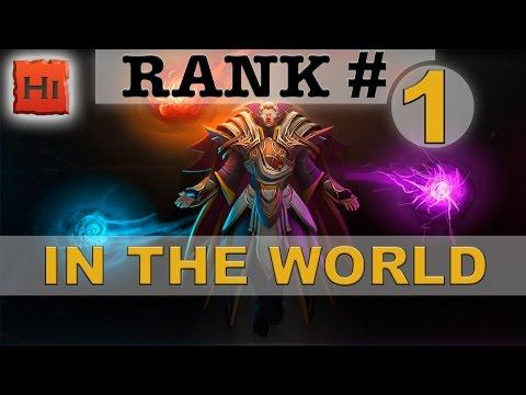 Ep. 1 - Rank # 1 WORLD (INVOKER) by Once Again | Win rate: 79% @HiDotaTV