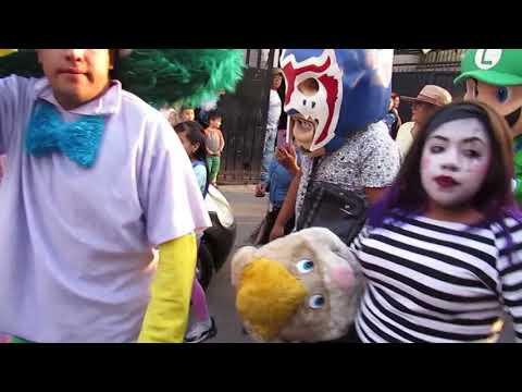 Carnaval Santa María Aztahuacan 2019 Disfraces San Pedro