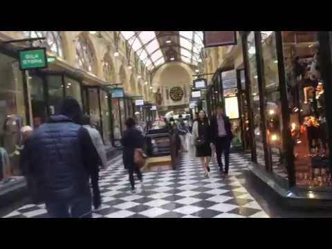 77. Urban shopping arcades. Melbourne, Victoria, Australia. May 2017