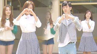 goowon couple jin goo kim ji won lovely heart dance running man 런닝맨 ep429