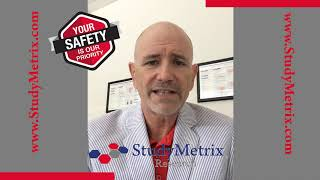Here at Study Metrix Research we have a Covid-19 Reopening Plan in place for your safety.