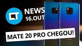Huawei lança linha Mate 20; Usuária é banida trapaceando Uber; WhatsApp e + [CT News]