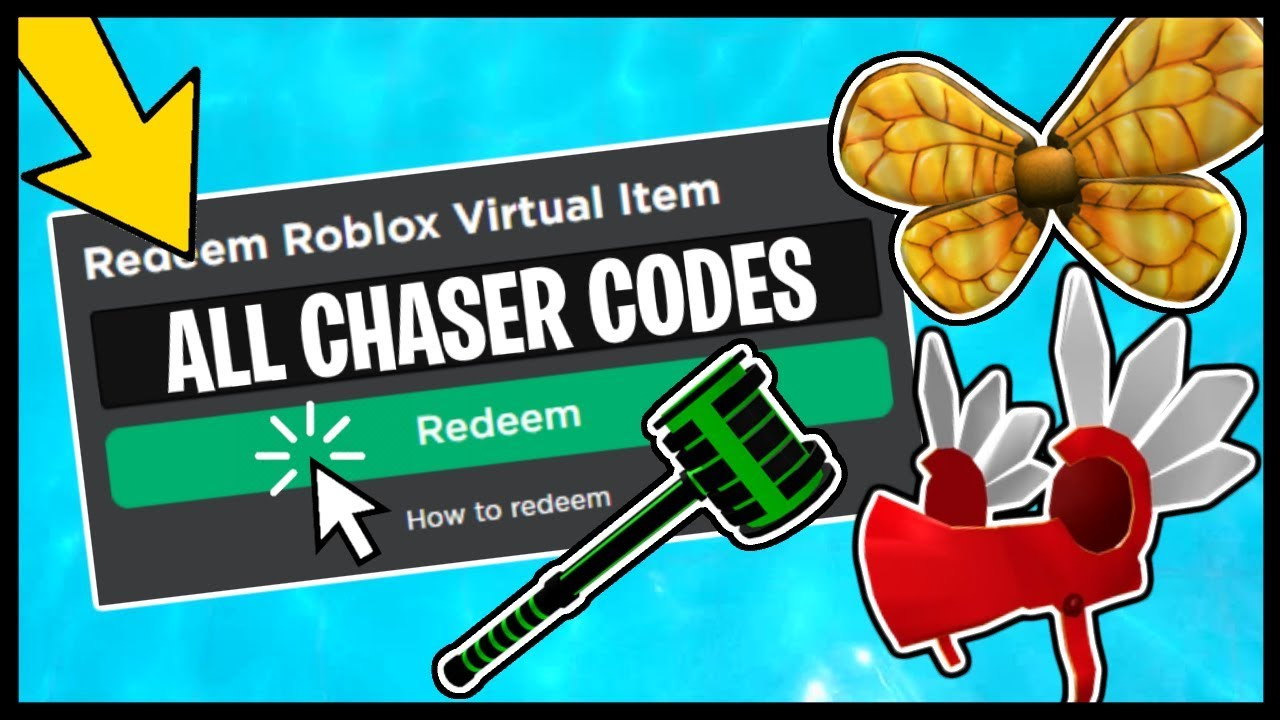 ALL ROBLOX TOY CHASER CODE ITEMS! - YouTube