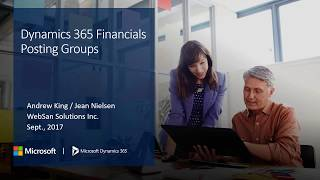Posting Groups in Dynamics 365 for Financials