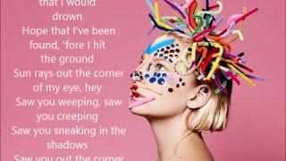 Sia - Reaper | Lyrics on Screen