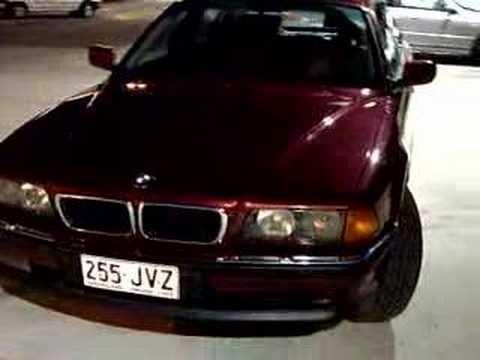 1996 BMW 740iL   YouTube