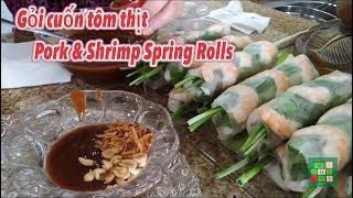 Gambar cover [Cuộc sống ở Mỹ] - The making of spring rolls with secret sauce | Gỏi cuốn tôm thịt - [Tập #114]