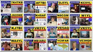 Video Thumbnails of Amazing Young Ladies in Amateur Radio -  DW3TRZ (still more are in the making)