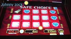 Book of Ra und Safe Choice 1€ und 4€ (alte Automaten)