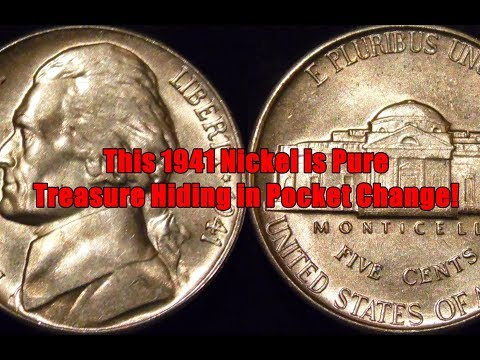 1941 Nickel Features Different Sized Mint Marks - One is Very Valuable & Highly Collectible!