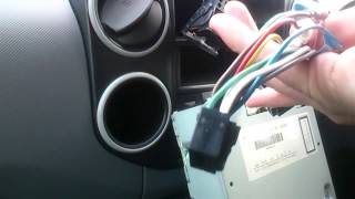 Quick install guide, radio in to Peugeot Partner Belingo 2010 model(inc power feed).