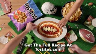 TOSTITOS® - Game Day Dip for Super Bowl LI | Layered Dip Recipe