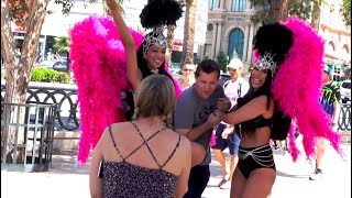 Farting on Las Vegas Showgirls GOES VERY WRONG!
