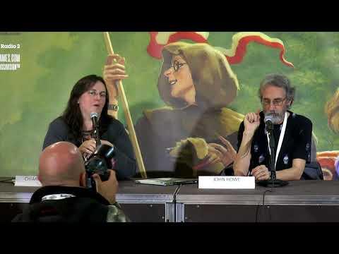 [Lucca Comics & Games] John Howe: istantanee dalla Terra di Mezzo