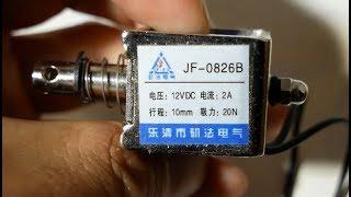ソレノイドを買ってみた JF-0826B