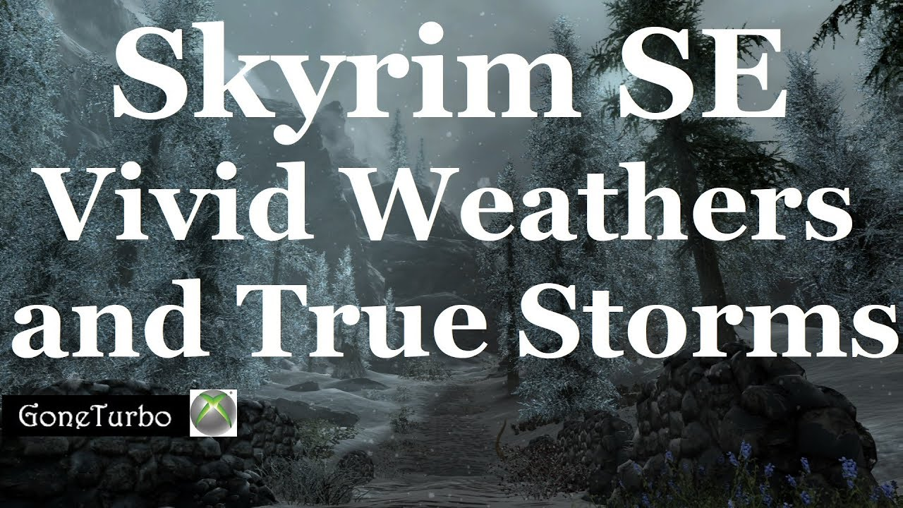 cheap sale pretty cheap new style Skyrim SE- Vivid Weathers and True Storms- Xbox One