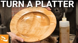 Turning a Utility Platter