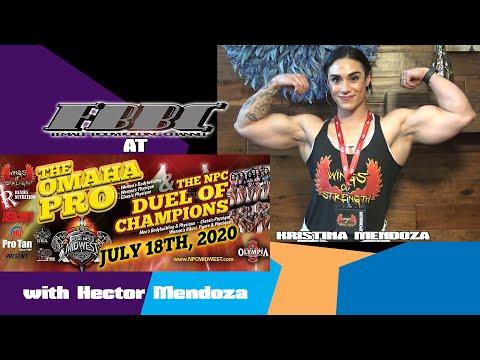 Omaha Pro 2020 – Women Bodybuilder IFBB Pro Kristina Mendoza
