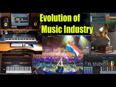 Evolution of Music Industry ( Hindi )