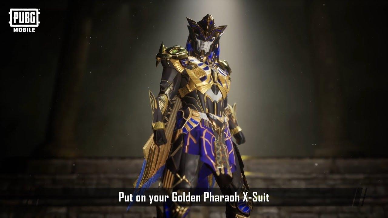 Golden Pharaoh X-Suit telah tiba!
