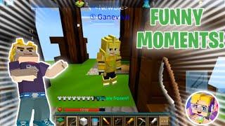 Lucky Block Skywars FUNNY MOMENTS!! 😂😎 (Blockman GO: Blocky Mods)
