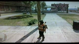 Red Dead Redemption HD:Hidden Tombstone and Landscape
