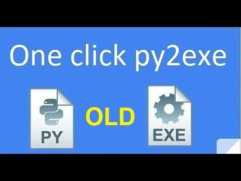 Convert PY to EXE YouTube Computer Science in 2018
