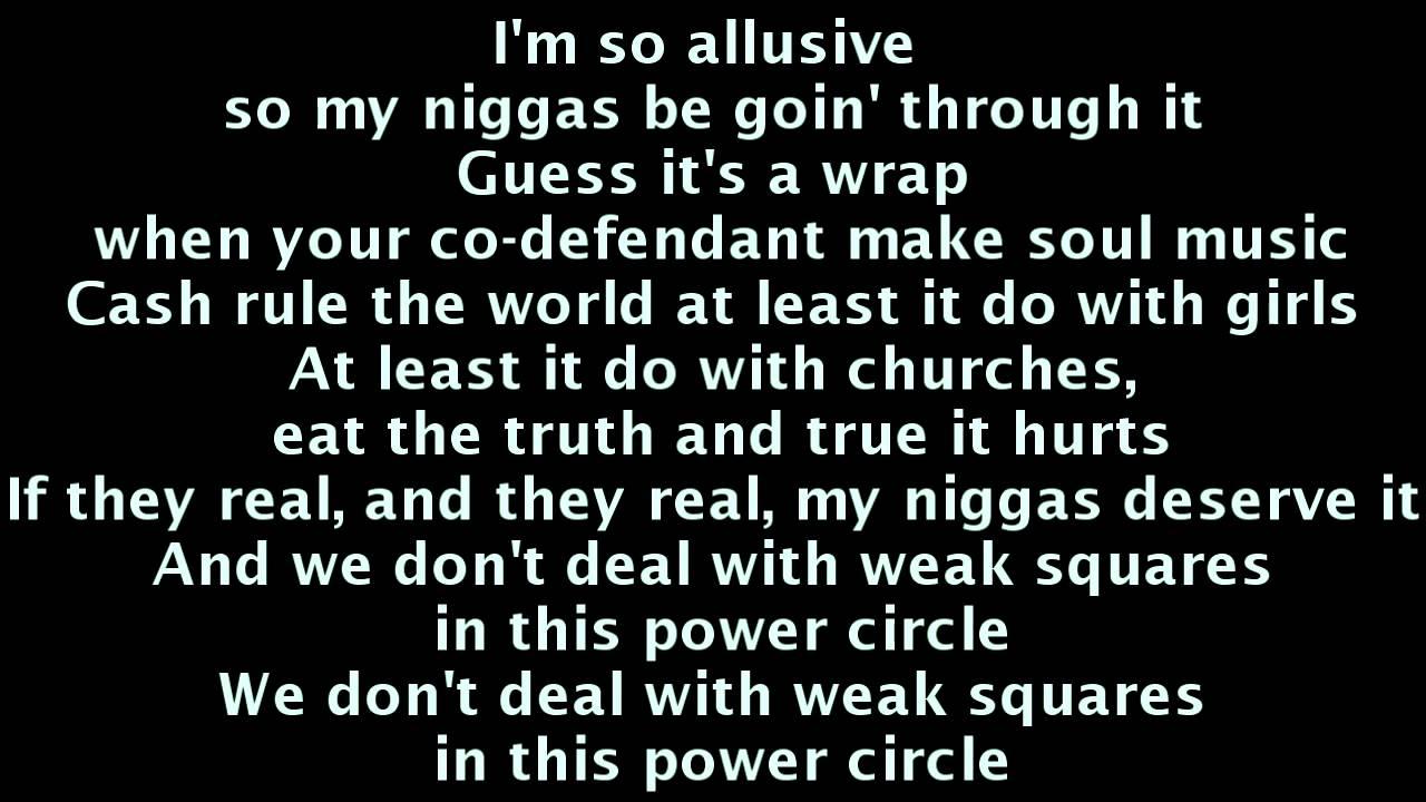 MMG - Power Circle Lyrics (Kendrick Lamar, Gunplay, Stalley, Wale, Meek  Mill, Rick Ross) | wale aston martin lyrics