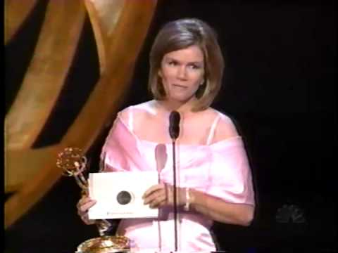 Mare Winningham wins 1998 Emmy Award for Supporting Actress in a Miniseries or Movie