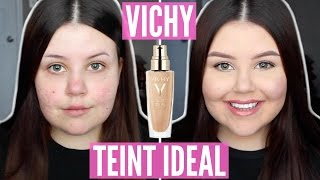 First Impressions | Vichy Teint Ideal Fluid Foundation (Acne Scarring/Dry Skin)