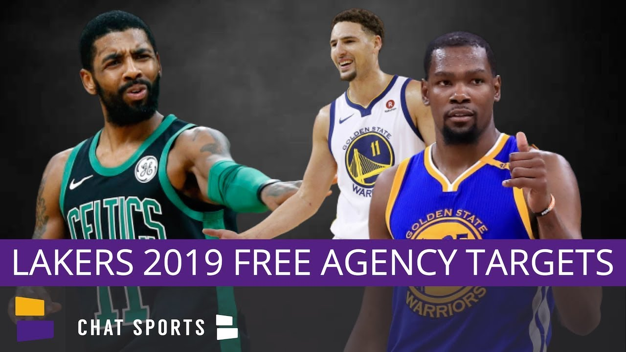 19fd34016cd2 Lakers Rumors  Top 5 Lakers Free Agents Targets In 2019 - Kevin ...