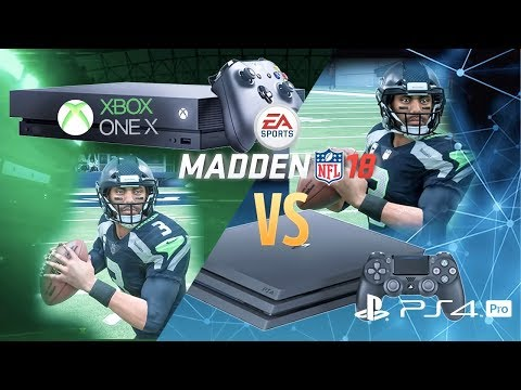 aea064849d8 Madden 18 Xbox One X vs PS4 Pro Graphics Comparison
